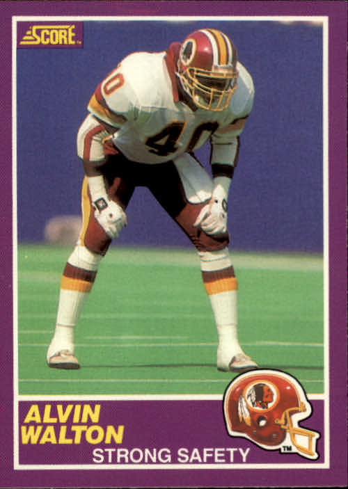 1989 Score Supplemental #334S Alvin Walton RC