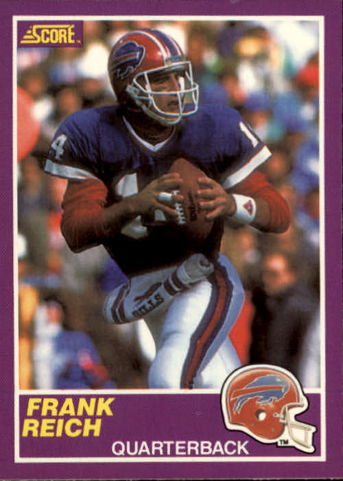 1989 Score Supplemental #335S Frank Reich RC