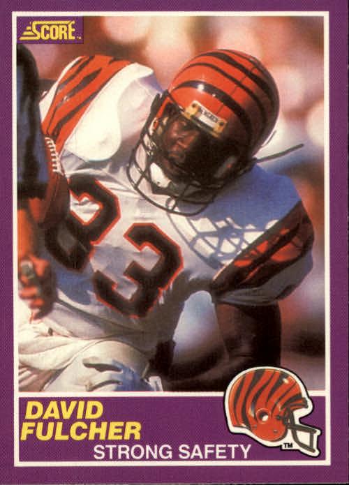 1989 Score Supplemental #337S David Fulcher