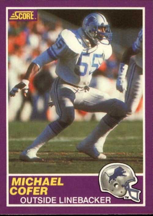1989 Score Supplemental #340S Michael Cofer
