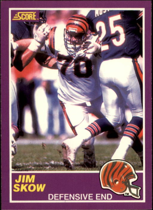 1989 Score Supplemental #341S Jim Skow RC