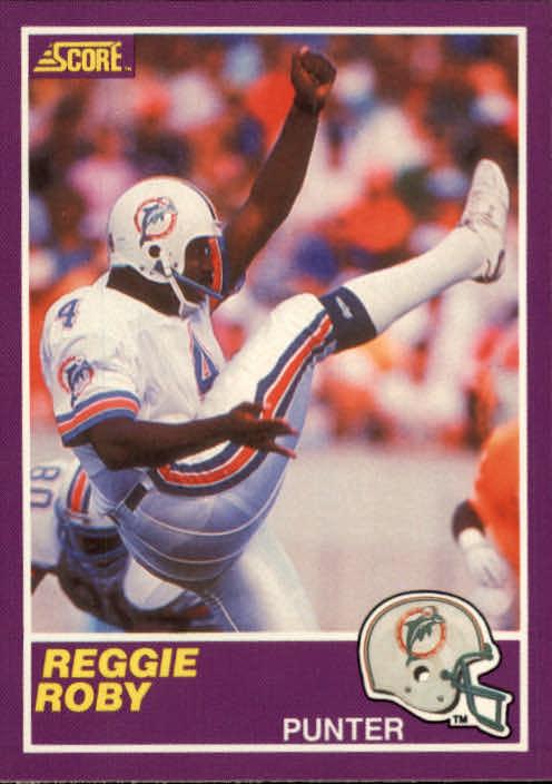 1989 Score Supplemental #345S Reggie Roby