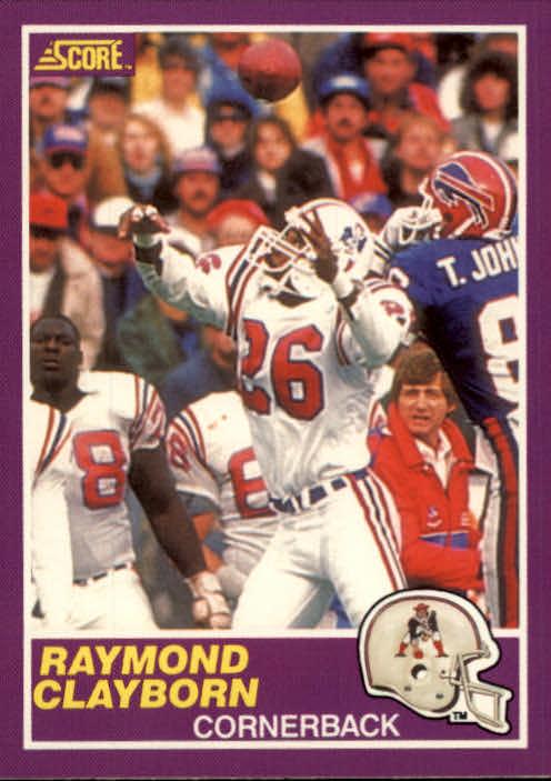 1989 Score Supplemental #346S Raymond Clayborn