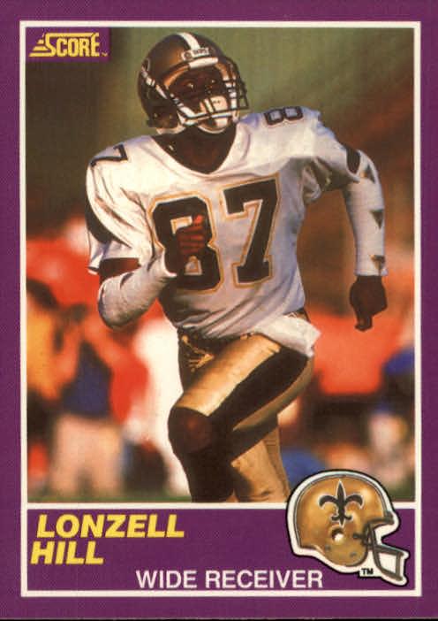 1989 Score Supplemental #347S Lonzell Hill