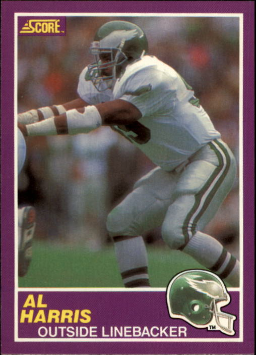 1989 Score Supplemental #350S Al Harris RC