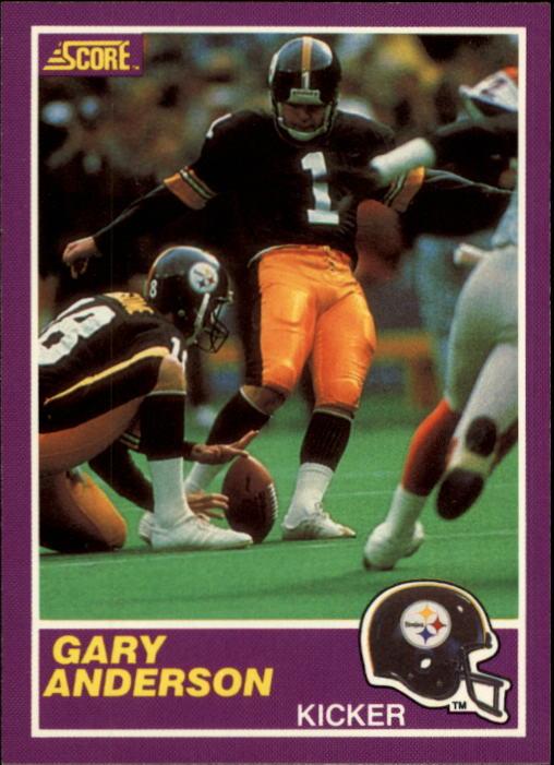 1989 Score Supplemental #352S Gary Anderson K