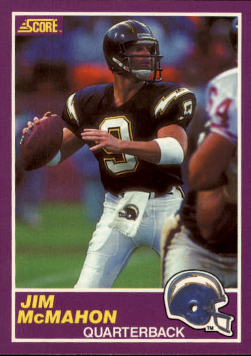 1989 Score Supplemental #353S Jim McMahon