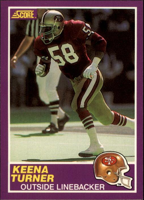 1989 Score Supplemental #354S Keena Turner