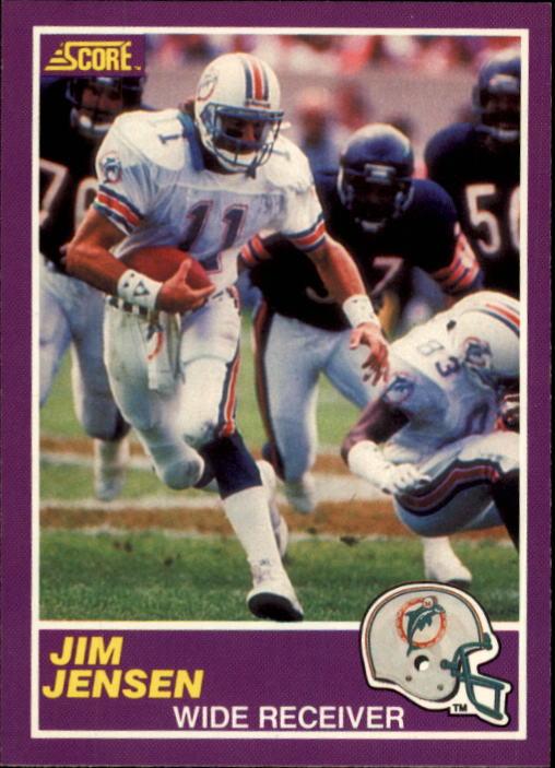 1989 Score Supplemental #365S Jim C.Jensen RC