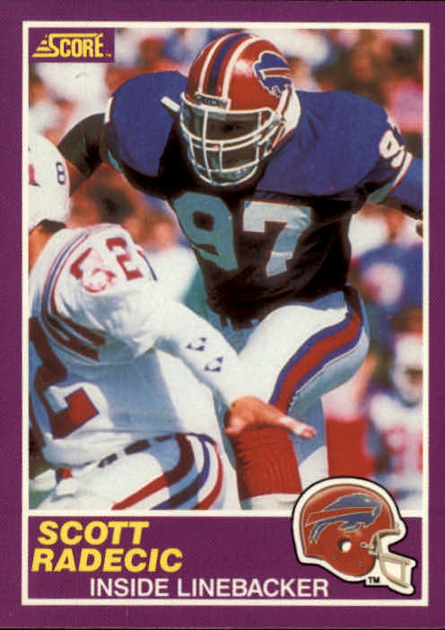 1989 Score Supplemental #393S Scott Radecic RC