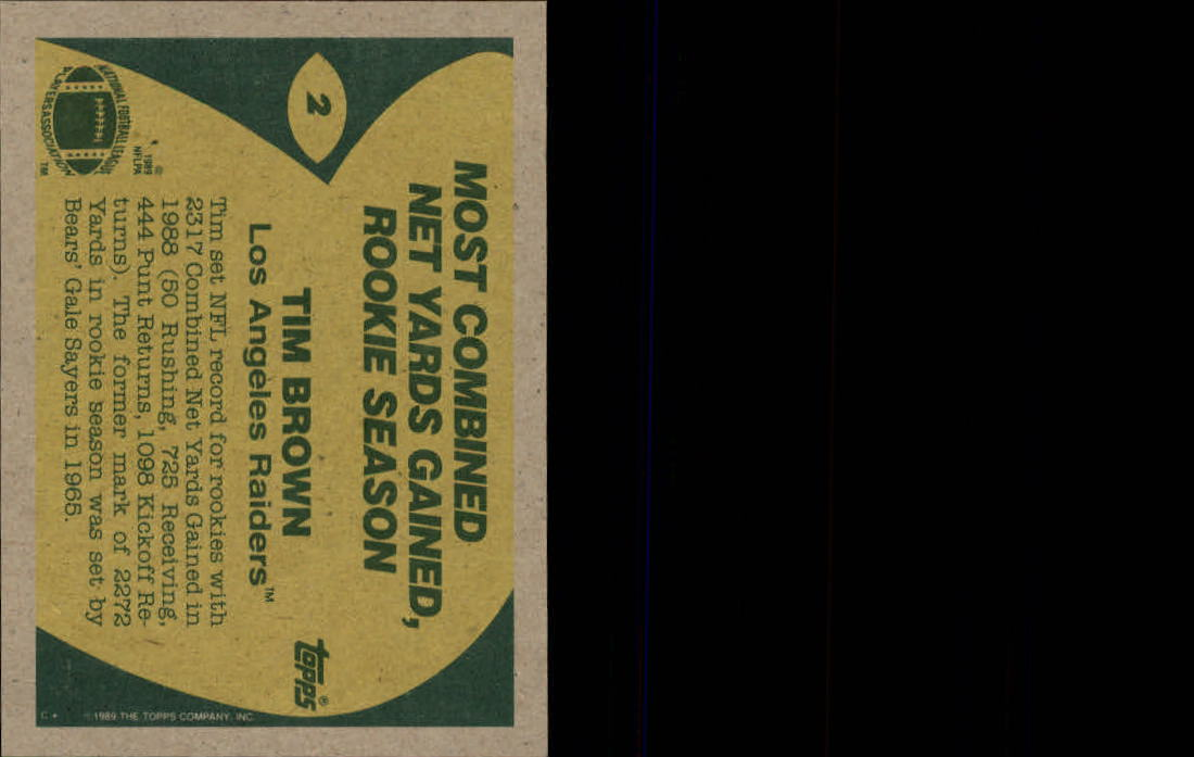 1989-Topps-Football-Card-Pick-2-249 thumbnail 3
