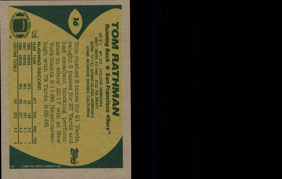 1989-Topps-Football-Card-Pick-2-249 thumbnail 17