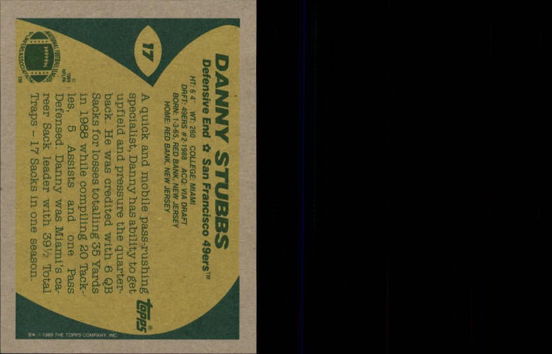 1989-Topps-Football-Card-Pick-2-249 thumbnail 19
