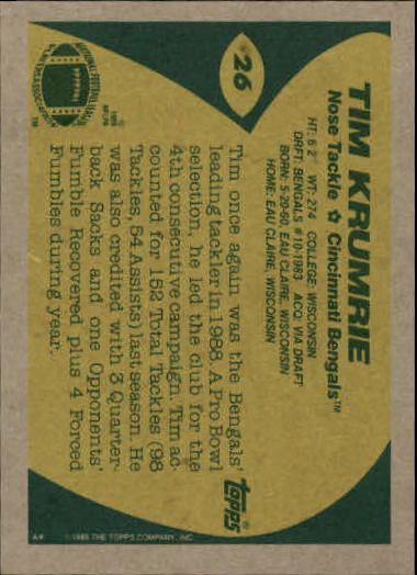 1989-Topps-Football-Card-Pick-2-249 thumbnail 33