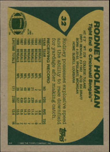1989-Topps-Football-Card-Pick-2-249 thumbnail 43