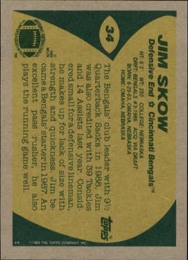 1989-Topps-Football-Card-Pick-2-249 thumbnail 45