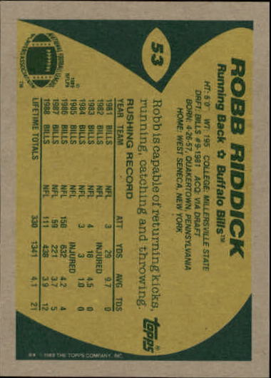 1989-Topps-Football-Card-Pick-2-249 thumbnail 73