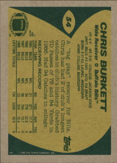 1989-Topps-Football-Card-Pick-2-249 thumbnail 75