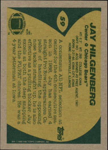 1989-Topps-Football-Card-Pick-2-249 thumbnail 85