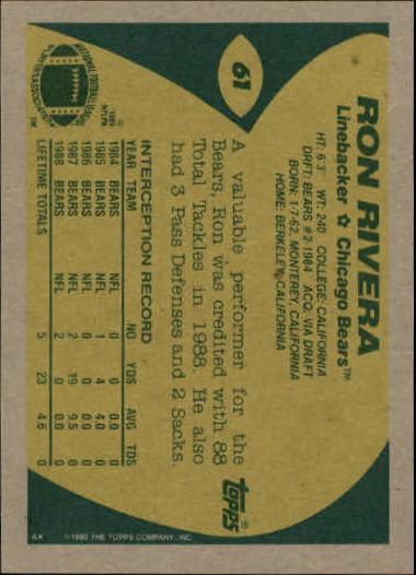 1989-Topps-Football-Card-Pick-2-249 thumbnail 89