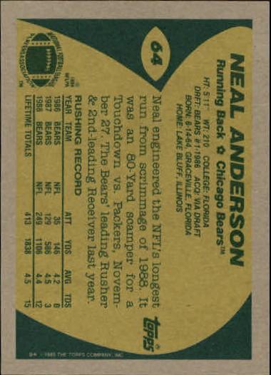 1989-Topps-Football-Card-Pick-2-249 thumbnail 95