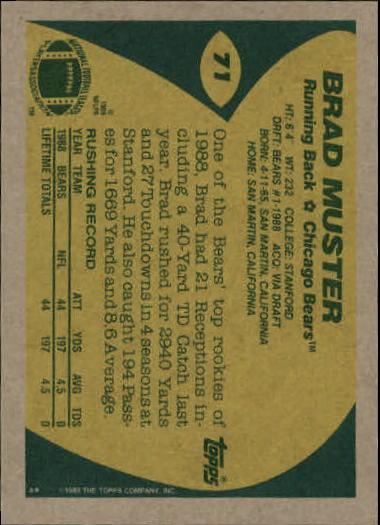 1989-Topps-Football-Card-Pick-2-249 thumbnail 107