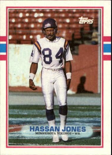 1989 Topps #78 Hassan Jones RC