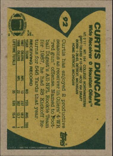 1989-Topps-Football-Card-Pick-2-249 thumbnail 129