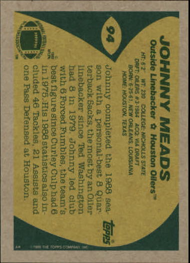 1989-Topps-Football-Card-Pick-2-249 thumbnail 133