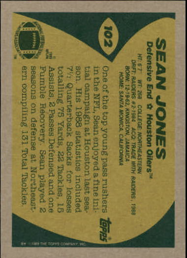 1989-Topps-Football-Card-Pick-2-249 thumbnail 145