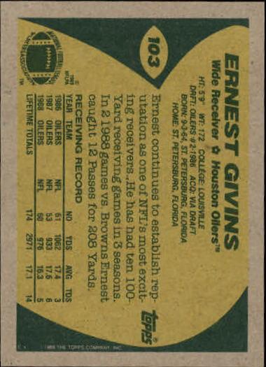 1989-Topps-Football-Card-Pick-2-249 thumbnail 147