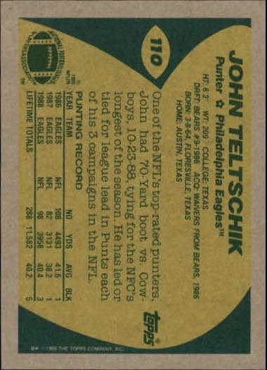1989-Topps-Football-Card-Pick-2-249 thumbnail 159