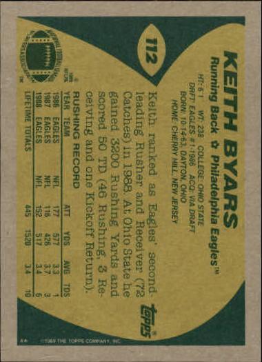 1989-Topps-Football-Card-Pick-2-249 thumbnail 163