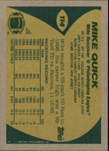 1989-Topps-Football-Card-Pick-2-249 thumbnail 167