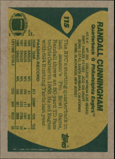 1989-Topps-Football-Card-Pick-2-249 thumbnail 169