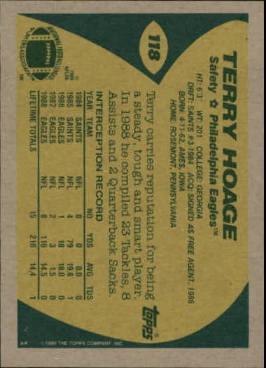 1989-Topps-Football-Card-Pick-2-249 thumbnail 173
