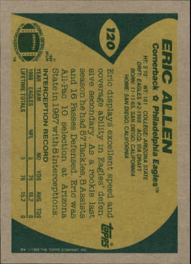 1989-Topps-Football-Card-Pick-2-249 thumbnail 175