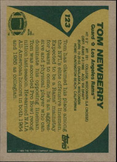 1989-Topps-Football-Card-Pick-2-249 thumbnail 179