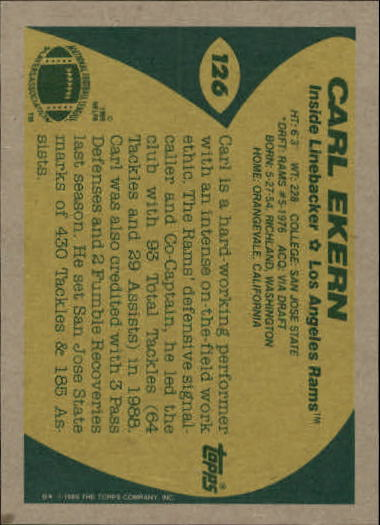 1989-Topps-Football-Card-Pick-2-249 thumbnail 185