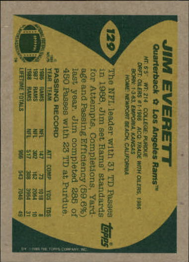1989-Topps-Football-Card-Pick-2-249 thumbnail 191
