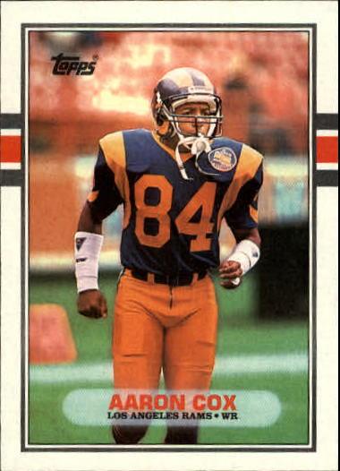 1989 Topps #136 Aaron Cox RC