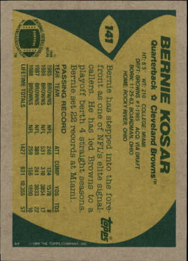 1989-Topps-Football-Card-Pick-2-249 thumbnail 215