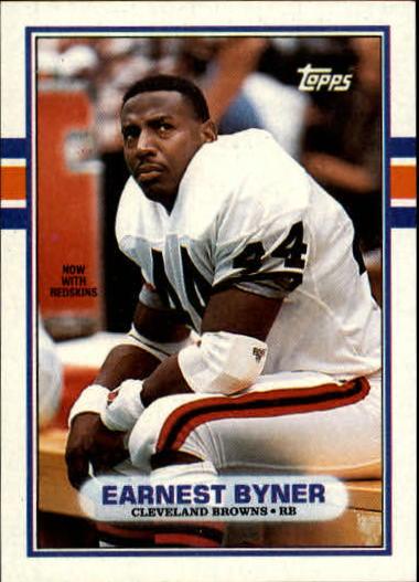 1989 Topps #147 Earnest Byner