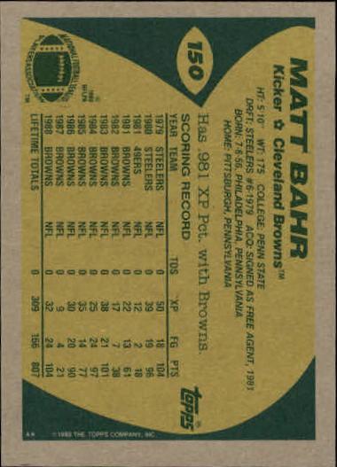 1989-Topps-Football-Card-Pick-2-249 thumbnail 231