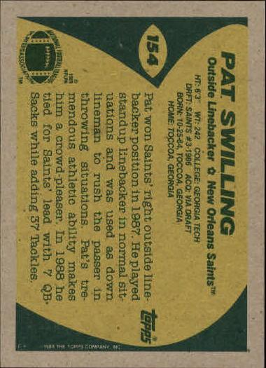 1989-Topps-Football-Card-Pick-2-249 thumbnail 237