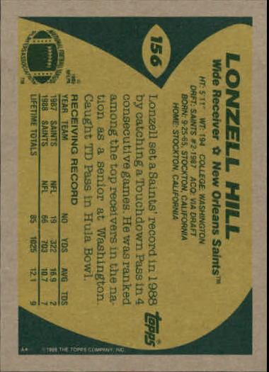 1989-Topps-Football-Card-Pick-2-249 thumbnail 241