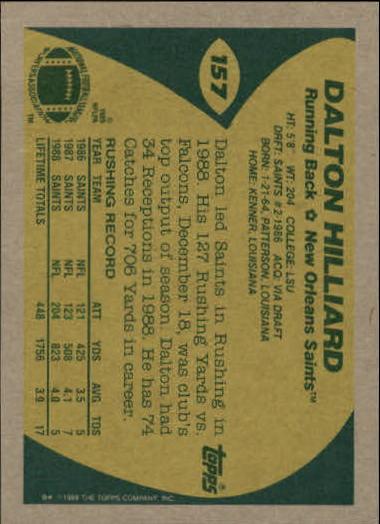 1989-Topps-Football-Card-Pick-2-249 thumbnail 243