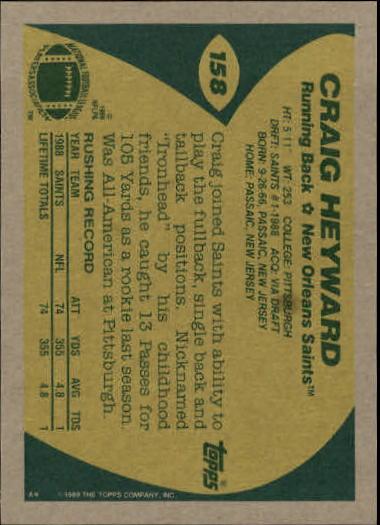 1989-Topps-Football-Card-Pick-2-249 thumbnail 245