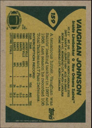 1989-Topps-Football-Card-Pick-2-249 thumbnail 247