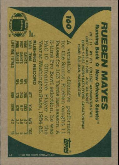 1989-Topps-Football-Card-Pick-2-249 thumbnail 249
